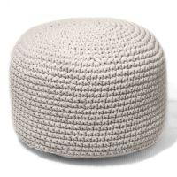 Пуф Round Creamy White - дизайнерские товары на Take&Live