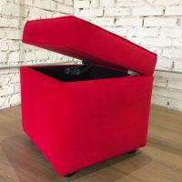 Пуф с крышкой Red - дизайнерские товары на Take&Live