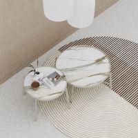 Стол кофейный Stripe Gold - дизайнерские товары на Take&Live