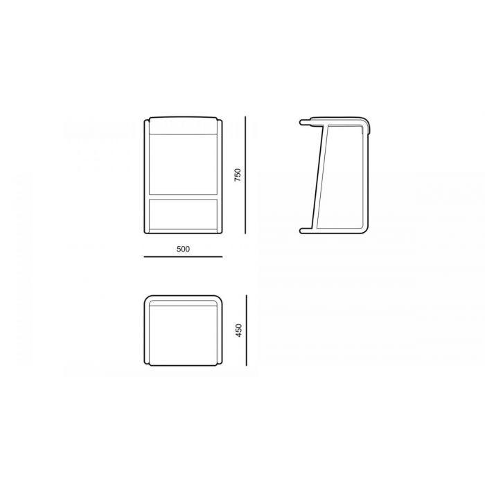 Стул барный BCE01 - дизайнерские товары на Take&Live