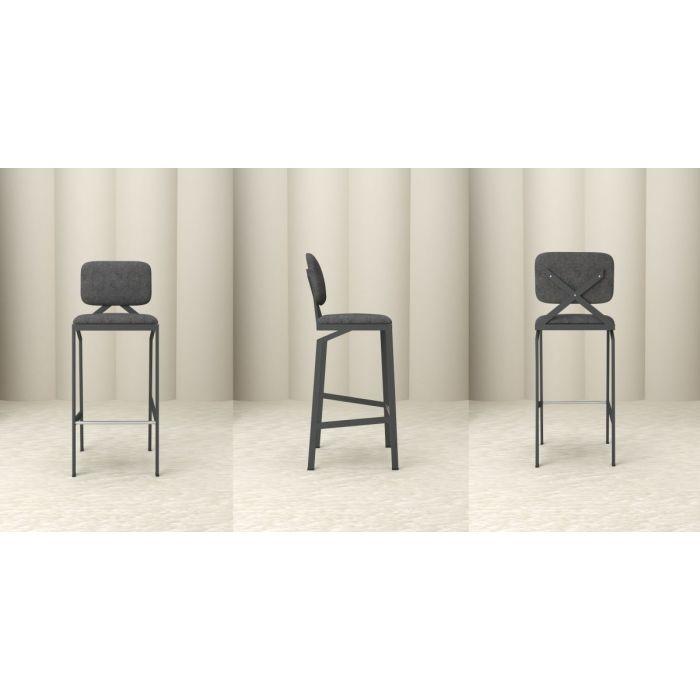 Барный стул WAY Black - дизайнерские товары на Take&Live