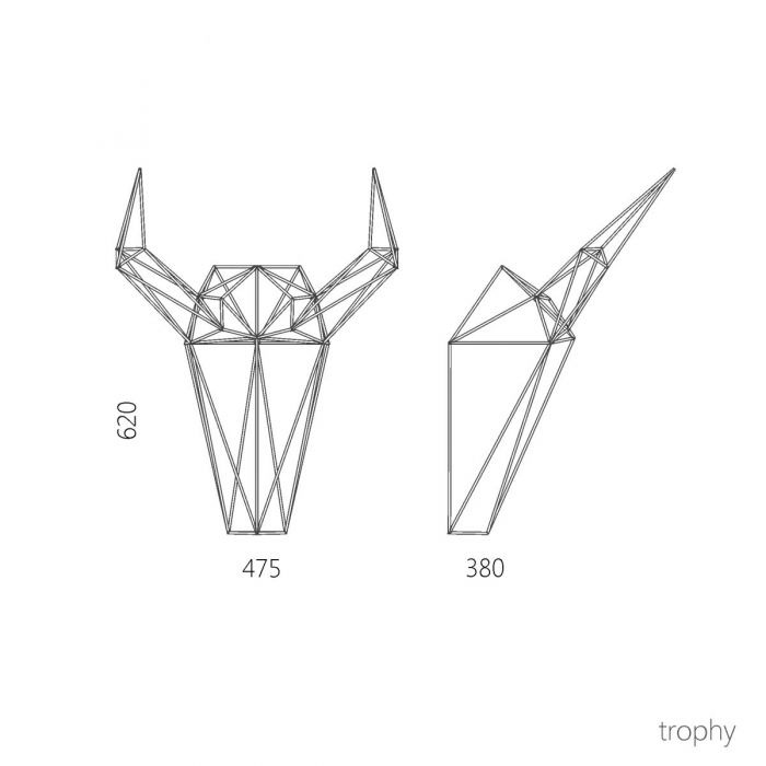 Декор TROPHY - дизайнерские товары на Take&Live