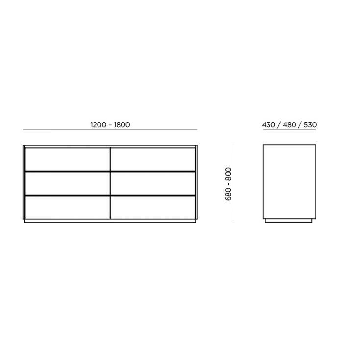 Комод Verona 6 - дизайнерские товары на Take&Live