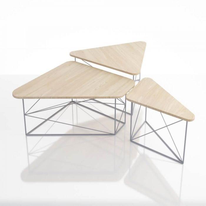 Комплект журнальных столов PART - дизайнерские товары на Take&Live