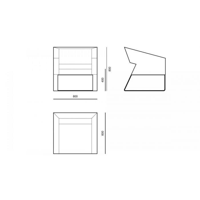 Кресло ACA02 - дизайнерские товары на Take&Live