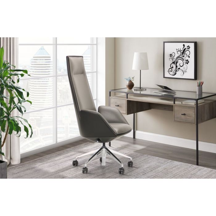 Кресло для руководителя Domen Grey - дизайнерские товары на Take&Live