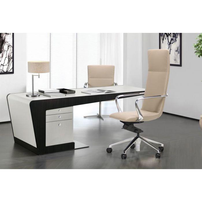 Кресло для руководителя Giov Beige - дизайнерские товары на Take&Live