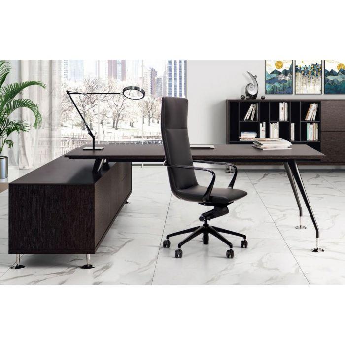 Кресло для руководителя Giov Black - дизайнерские товары на Take&Live