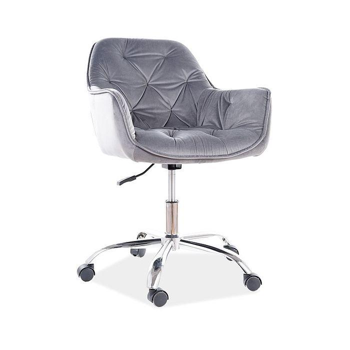 Кресло поворотное Q-190 Grey - дизайнерские товары на Take&Live