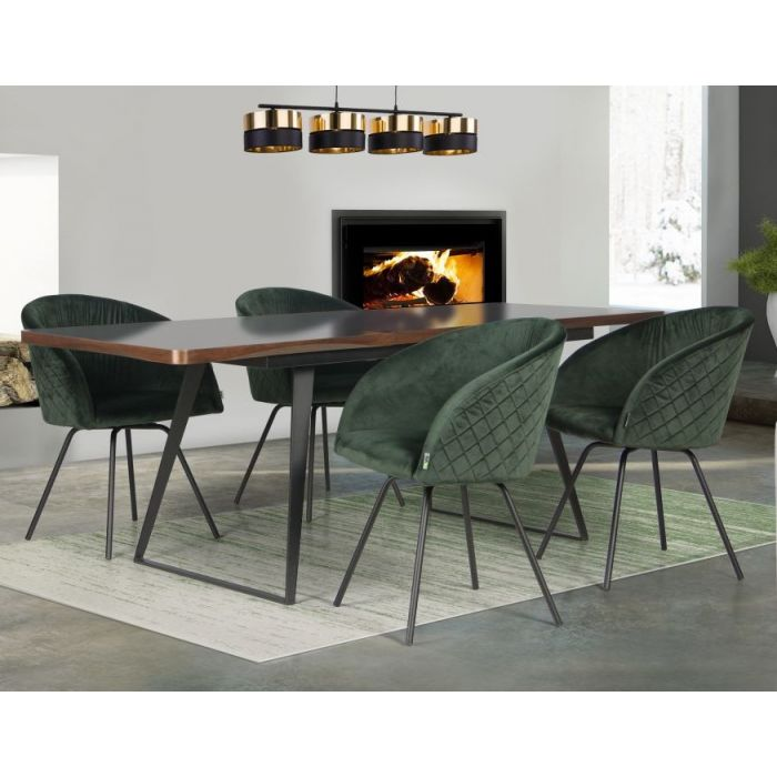 Кресло поворотное Sacramento Green - дизайнерские товары на Take&Live
