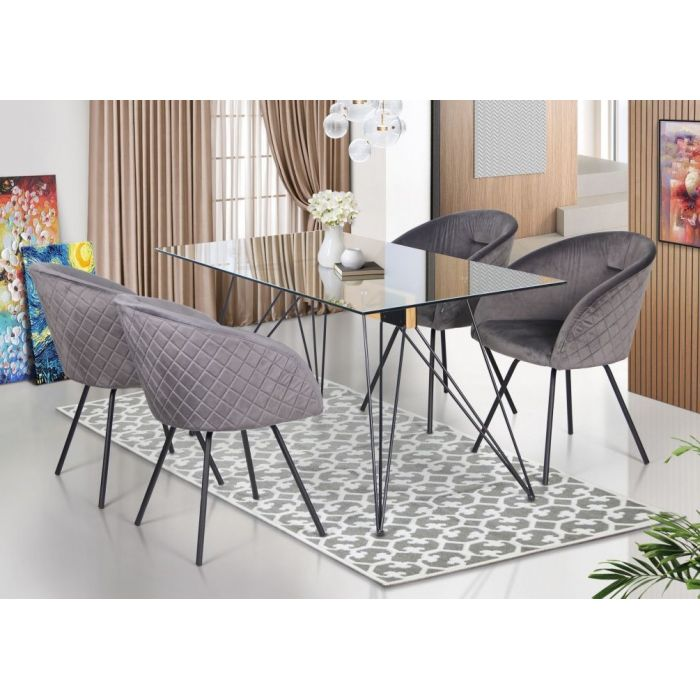 Кресло поворотное Sacramento Grey - дизайнерские товары на Take&Live