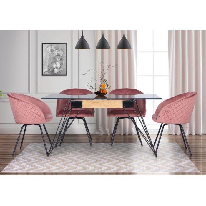 Кресло поворотное Sacramento Rose - дизайнерские товары на Take&Live