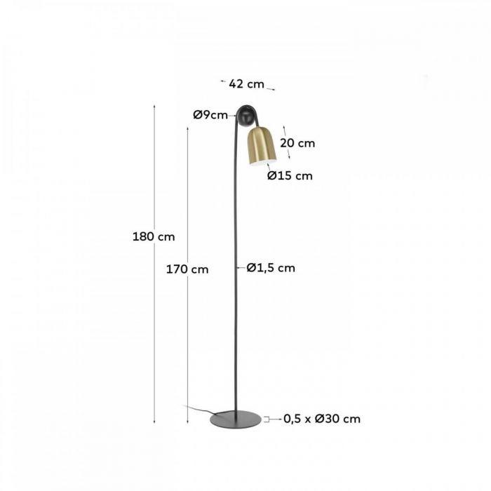 Лампа напольная Natsumi - дизайнерские товары на Take&Live