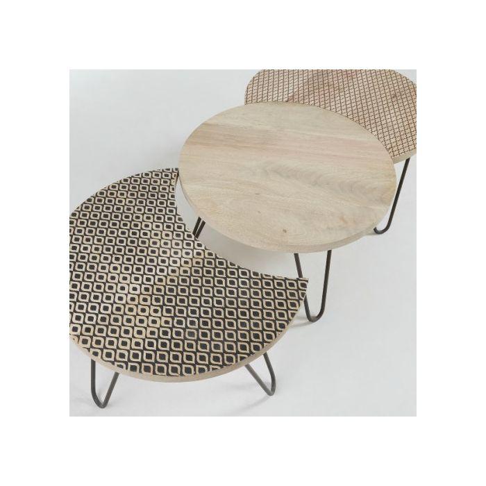 Набор из 3-х столов HOSS - дизайнерские товары на Take&Live