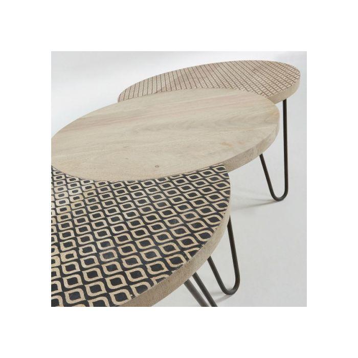 Набір із 3-х столів HOSS - дизайнерские товары на Take&Live