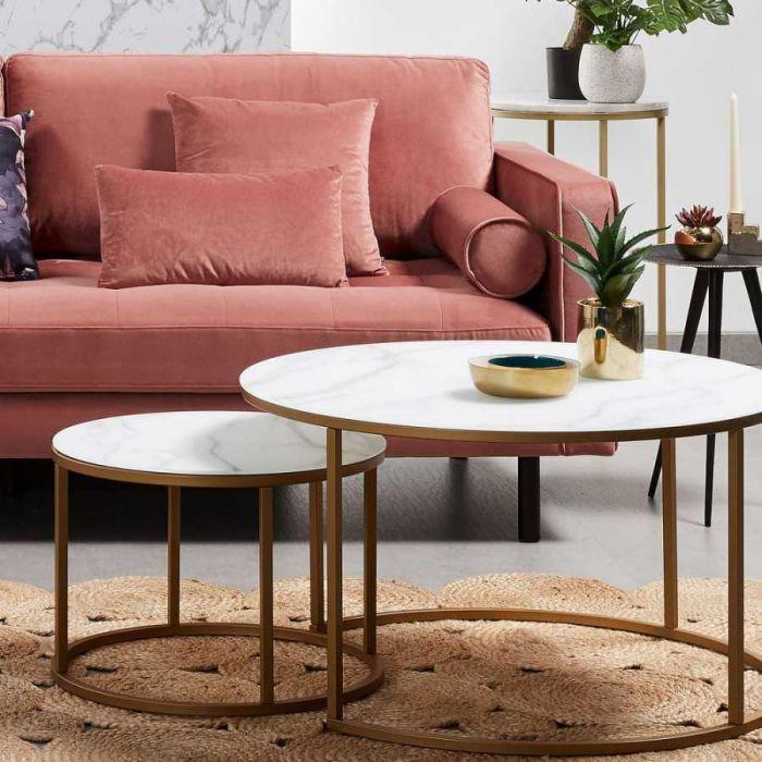 Набор из 2-х столов Leonor - дизайнерские товары на Take&Live