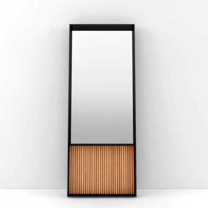 Напольное зеркало ARRIS Nordic Black - дизайнерские товары на Take&Live