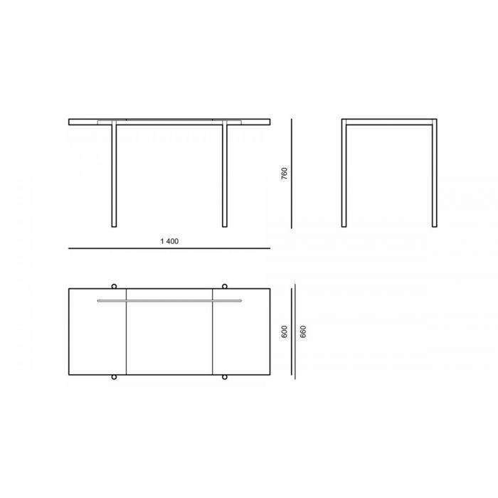 Стіл DE02 - дизайнерские товары на Take&Live
