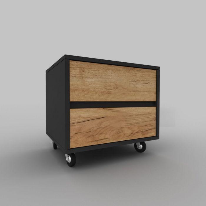 Тумба на колесиках D1.2 03 - дизайнерские товары на Take&Live