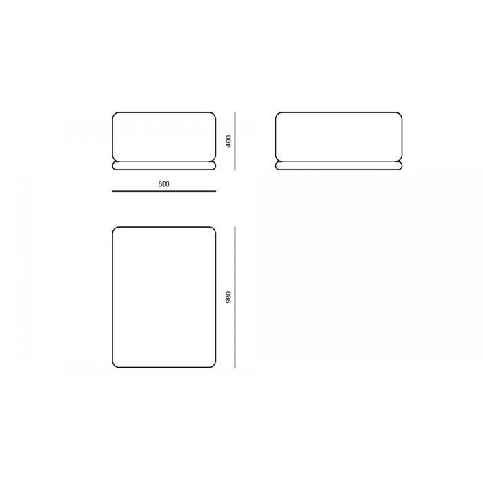 Пуф PE01 - дизайнерские товары на Take&Live
