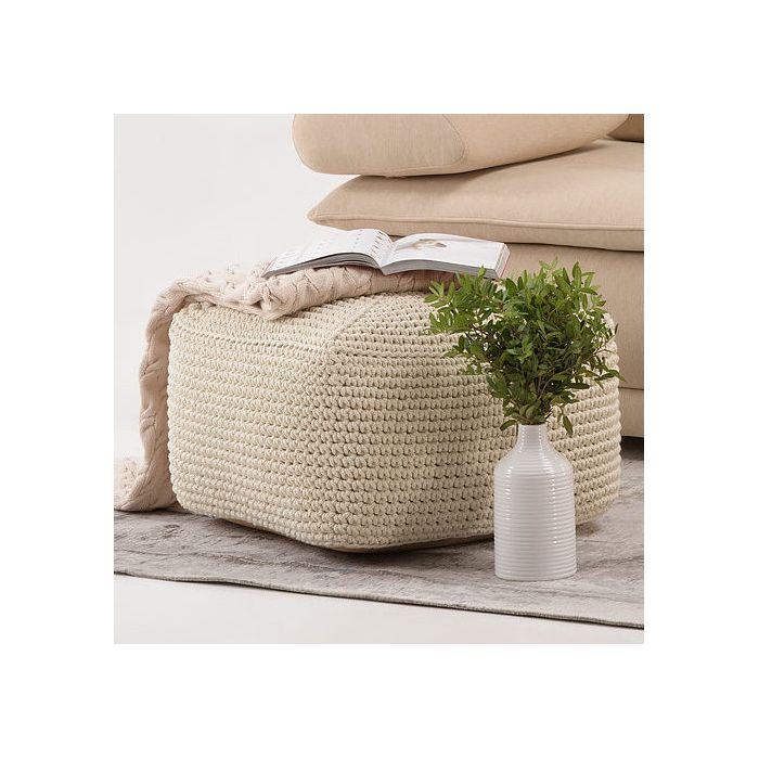 Пуф Square Creamy White - дизайнерские товары на Take&Live