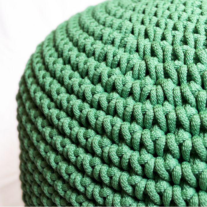 Пуф зелений поліпропіленовий - дизайнерские товары на Take&Live