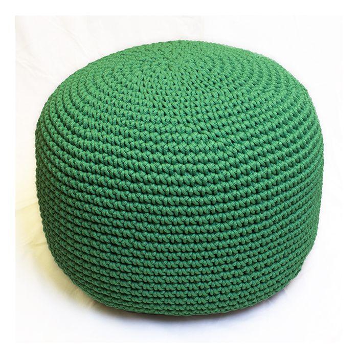 Пуф зеленый полипропиленовый - дизайнерские товары на Take&Live