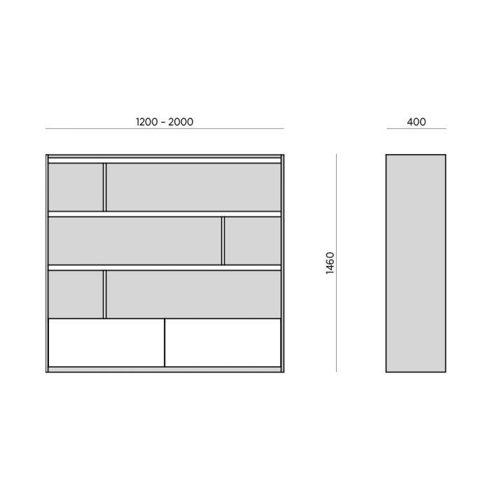 Стеллаж Grid S - дизайнерские товары на Take&Live