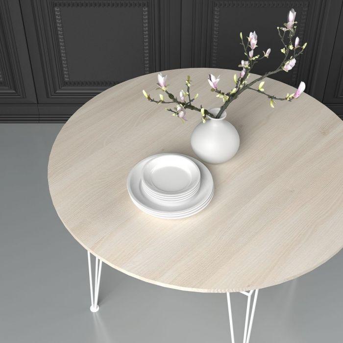 Стол обеденный круглый Apollo - дизайнерские товары на Take&Live