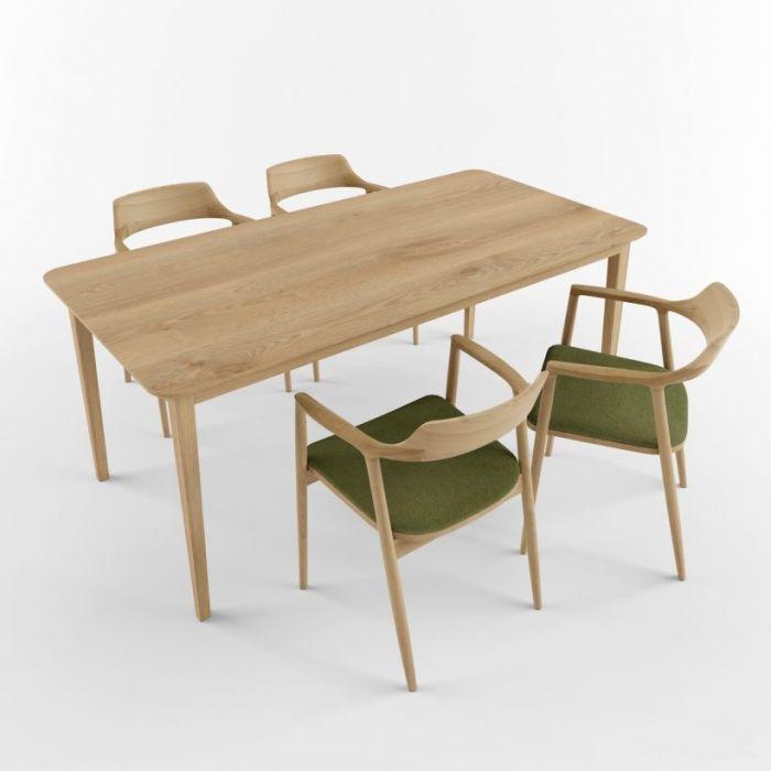 Стол из дуба OPIUM-R - дизайнерские товары на Take&Live