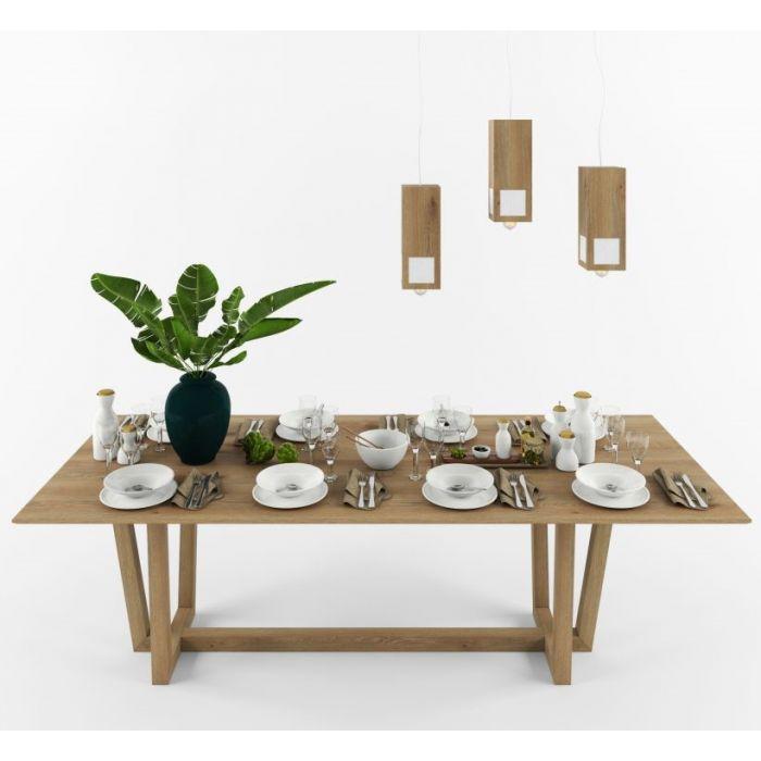 Стол из дуба KARKAS - дизайнерские товары на Take&Live