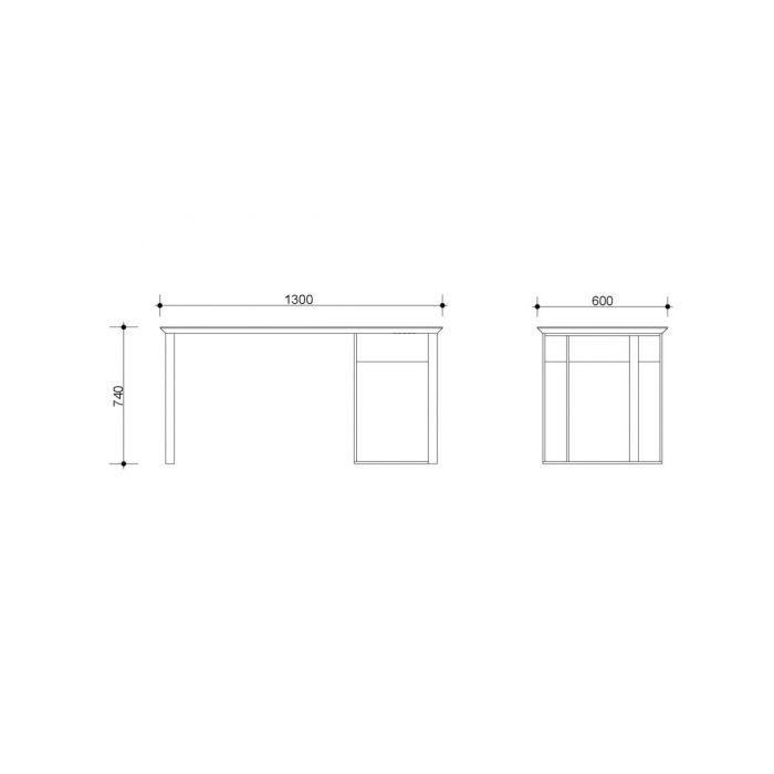 Стол рабочий INK - дизайнерские товары на Take&Live