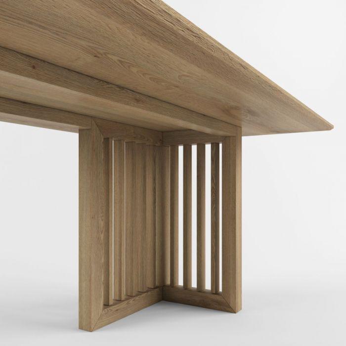 Стол из дуба AVTOGRAF T-2 - дизайнерские товары на Take&Live