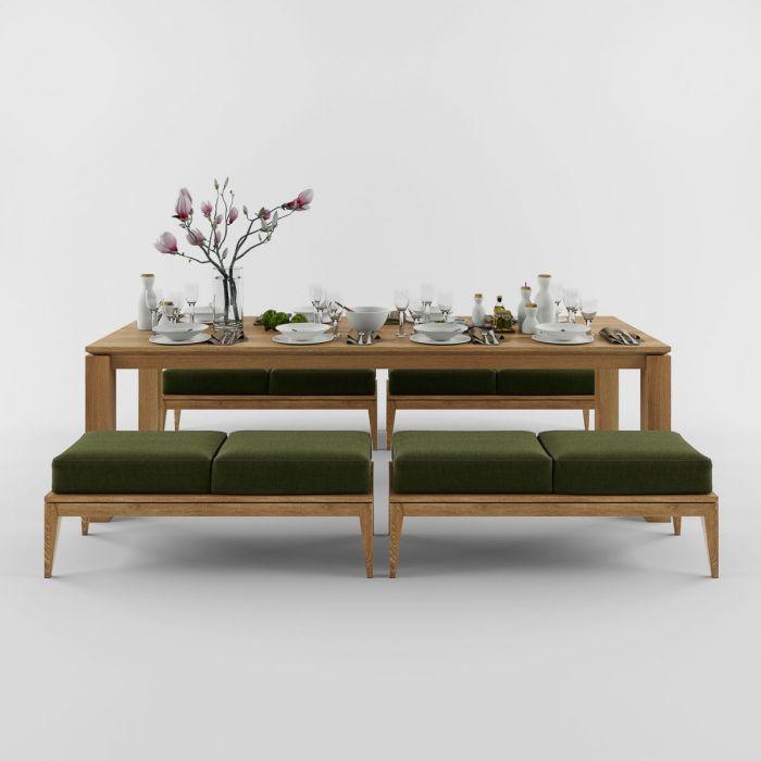 Стол из дуба SIMPLE - дизайнерские товары на Take&Live