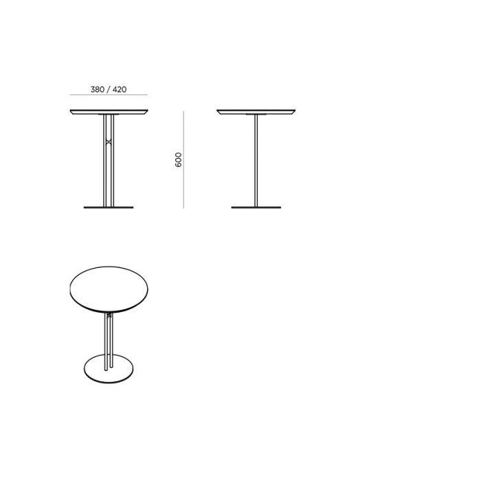 Стол кофейный Theo - дизайнерские товары на Take&Live