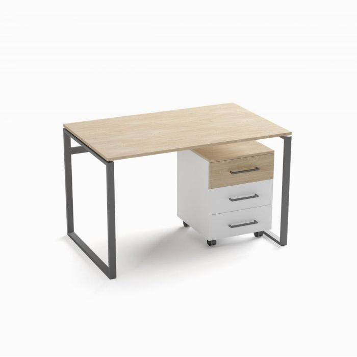 Стол рабочий с тумбой Office option 1 - дизайнерские товары на Take&Live