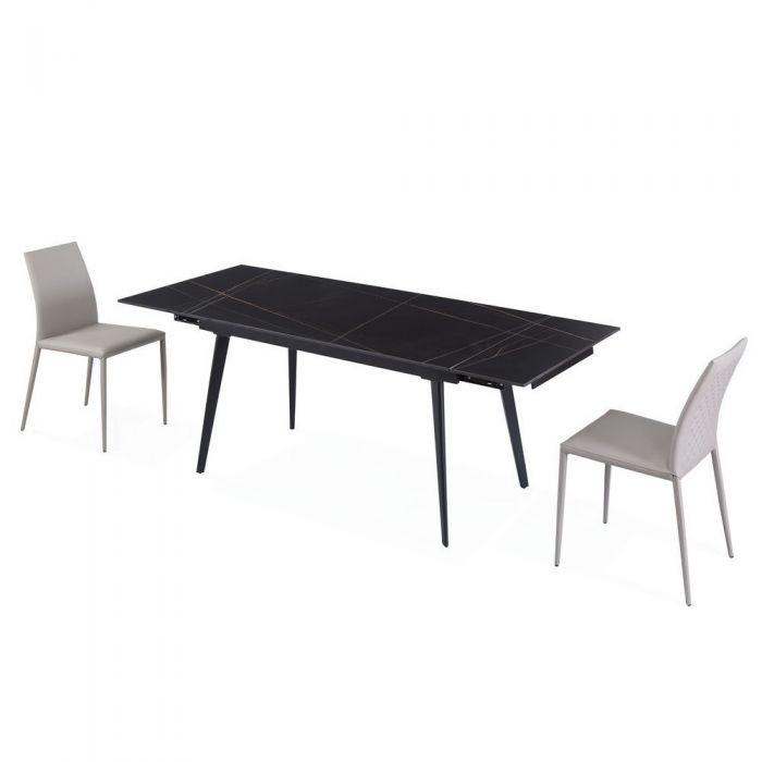 Стол раскладной Hugo Lofty Black - дизайнерские товары на Take&Live