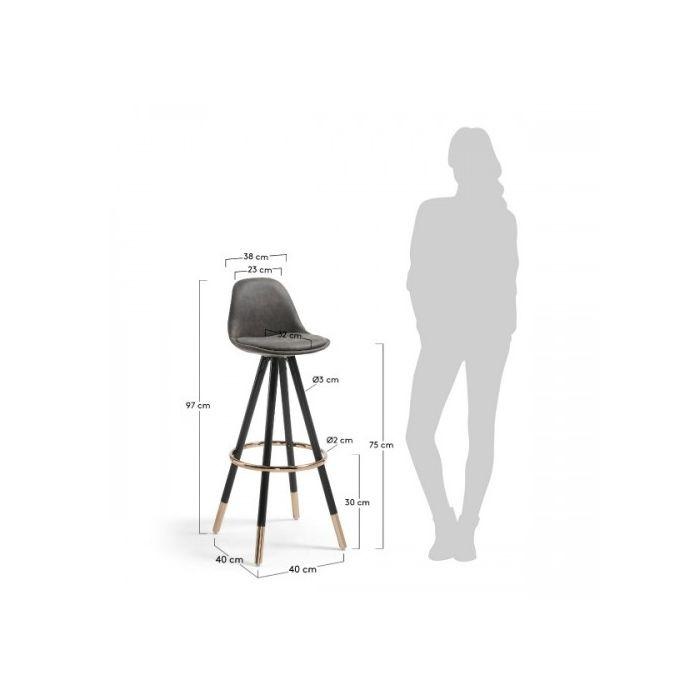 Стілець барний STAG - дизайнерские товары на Take&Live