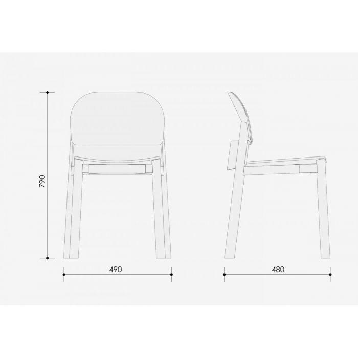 Стул BELT - дизайнерские товары на Take&Live