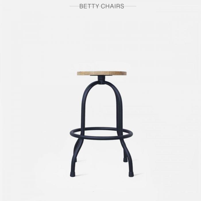 Стул полубарный вращающийся Betty - дизайнерские товары на Take&Live