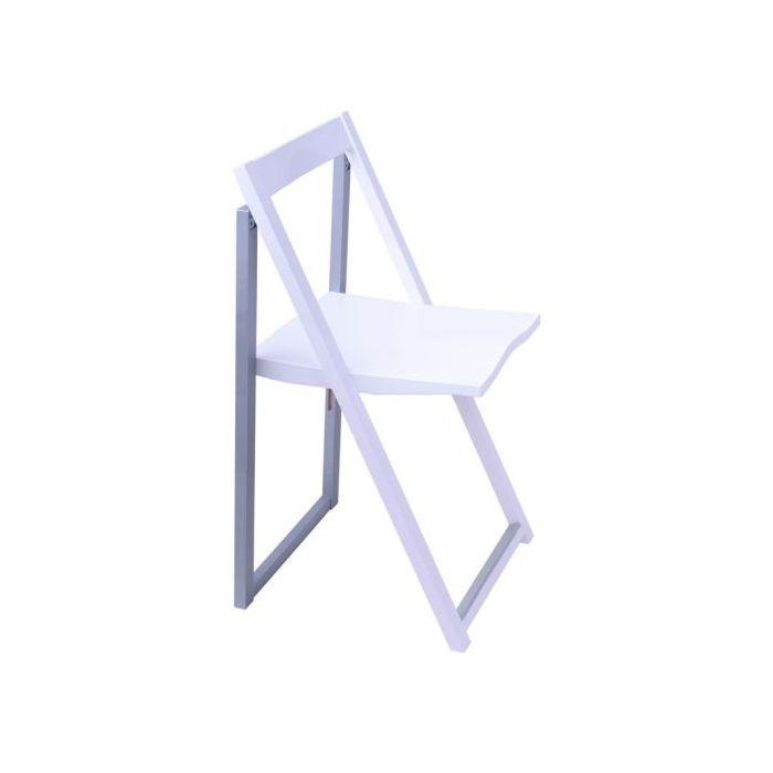 Стул складной Silla Slim White - дизайнерские товары на Take&Live