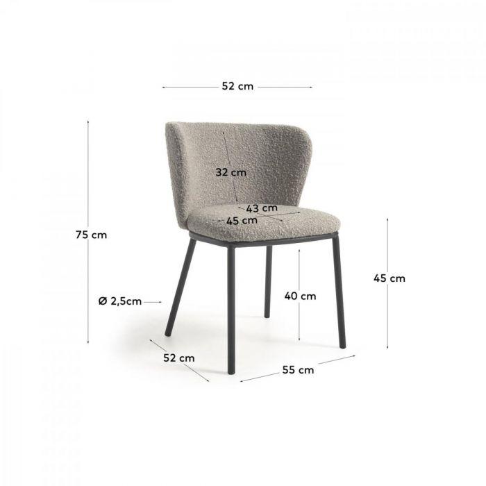 Стул Cisel Grey - дизайнерские товары на Take&Live