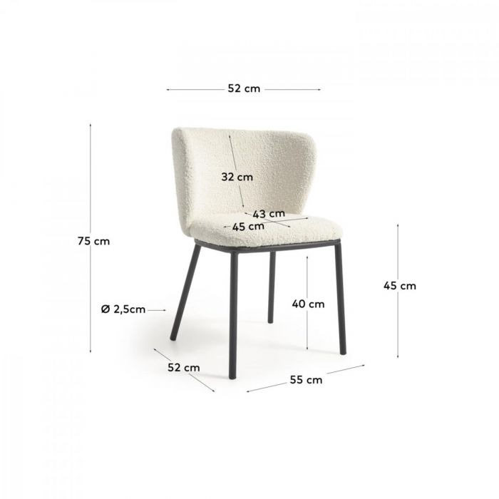 Стул Cisel White - дизайнерские товары на Take&Live