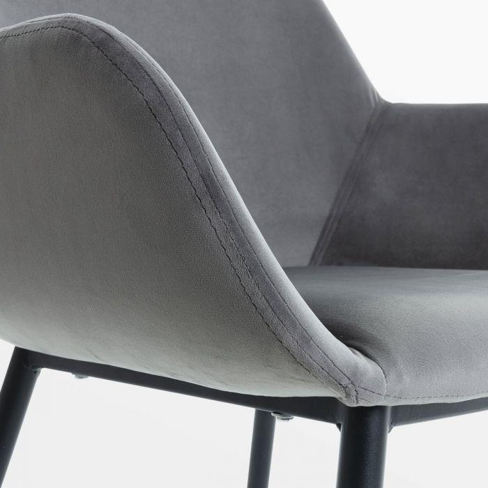 Стул Cona Vel Grey - дизайнерские товары на Take&Live