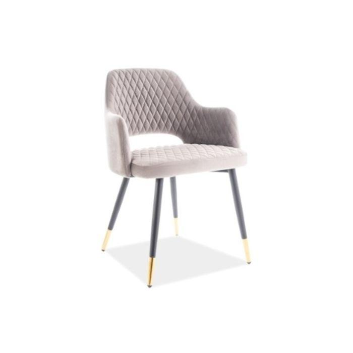 Стул Franco Velvet Grey - дизайнерские товары на Take&Live