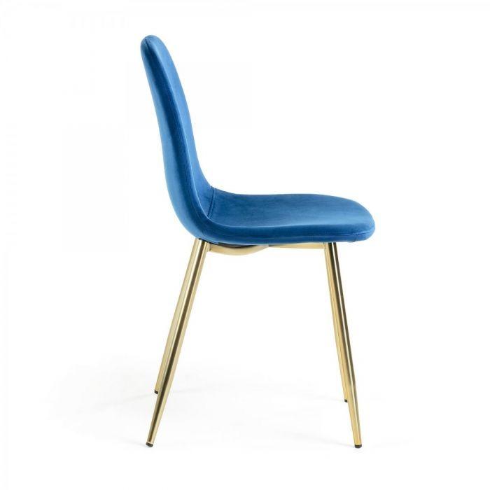 Стул LIS Gold Blue - дизайнерские товары на Take&Live