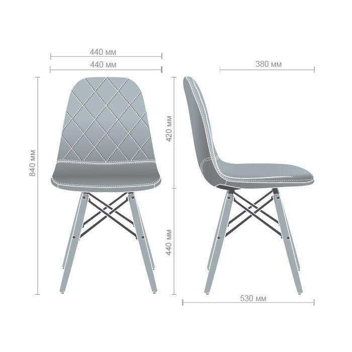 Стул Lorenco Grey - дизайнерские товары на Take&Live