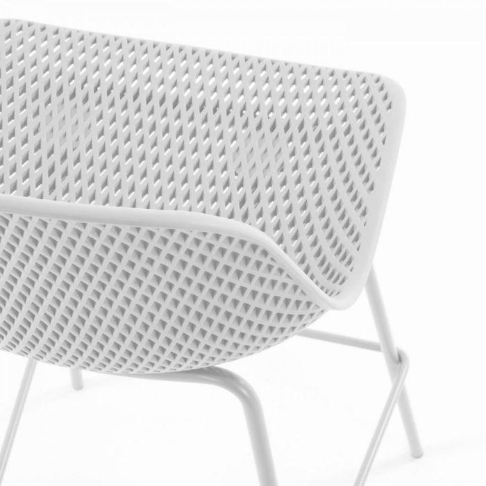 Стул полубарный Quinby White - дизайнерские товары на Take&Live