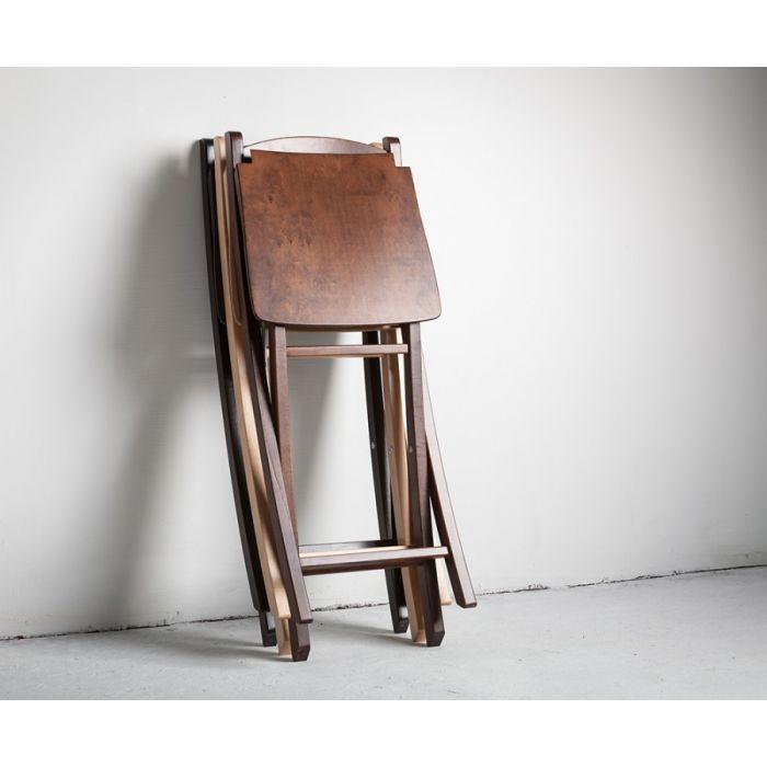 Стул складной Silla Wenge - дизайнерские товары на Take&Live