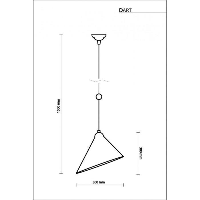 Светильник подвесной Dart - дизайнерские товары на Take&Live